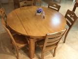 橡木餐桌全新批发价