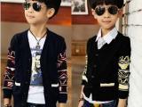 热销 男中童纯棉针织 儿童装毛衣批发 韩版男童装 秋款