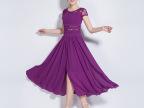 2015 新品夏 时尚宽松大摆连衣裙 潮流波西米亚沙滩长裙 一件代发