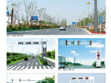 厂家供应 机动车信号灯杆 交通信号灯杆