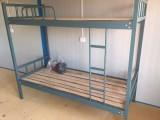 供应合肥铁架床高低床 双层公寓床员工宿舍双层床