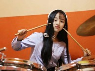 赤坎专业架子鼓 非洲鼓 吉他 尤克里里 声乐教学