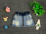 牛仔短裤 2015新款春夏装童装童裤小童x2081女童裙装短裤