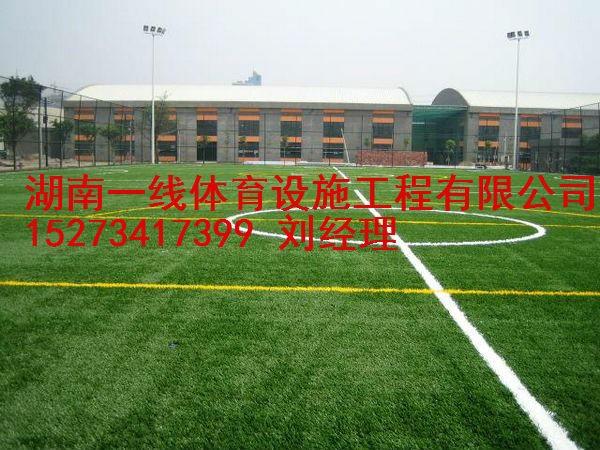 怀化芷江县人造草足球场铺设,足球场施工湖南一线体育设施