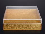 布金板亚克力保健品包装盒 定制生产包装盒 按图纸按样板做货