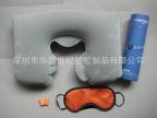 供应航空颈枕充气按摩枕  U型颈枕 广告