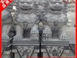 福建石雕狮子 寺庙门口狮子石雕像 墓地石狮子多少钱