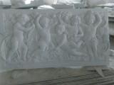 汉白玉浮雕加工定制 花岗岩浮雕设计工厂 石雕浮雕