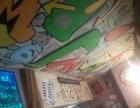 临沂手绘彩绘幼儿园文化墙古建餐厅酒店墙绘及雕塑
