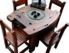 老船木茶桌椅组合全实木大板仿古家具中式功夫茶台休闲茶几茶艺桌