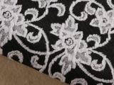 女装短裙服装面料 涤棉色织提花布料-几何图案 民族布