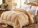 特级澳洲羊羔绒冬被加厚保暖被子被芯 棉被