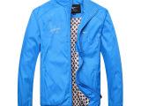 爆款2014新款品牌男装夹克 七皮狼男士时尚单衣 运动休闲男外套