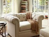 2014新款美式乡村 布艺沙发 书房卧室