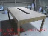 广灵县定制木质三角体验台手机展示桌三角转