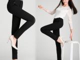 中老年女裤 2015秋季新款高腰女式休闲裤韩版大码弹力裤 一件代