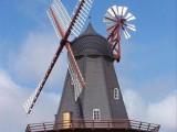 荷兰风车,玫瑰花海,灯光节展览道具制作厂家