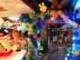 气球布置儿童派对宝宝宴魔法气球,氦气球放飞