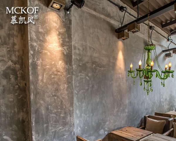 清水墙面漆水泥漆工业风做旧