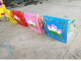 4-6车轨道儿童游乐设备猴子拉车