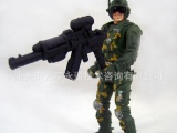 儿童玩具批发 军人模型玩具 仿真兵人 袋