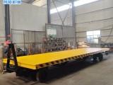 創碩牽引式平板拖車 貨物托盤運輸車 倉庫中轉車