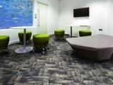 广州市办公方块地毯 酒店 手工定制地毯 PVC地板胶