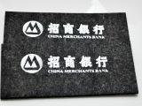 华韵毛毡 毛毡印字logo商标图案 加工毛毡制品印刷