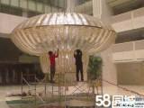 北京朝阳专业清洗公司,大型水晶灯清洗,吊灯清洗,壁纸清洗