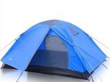 柯瑞普 户外野营帐篷 双人双层露营旅行帐篷 野外防暴雨帐篷批发