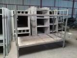 海南铁架床厂家专业定制 各类学生床 公寓床 上下铺铁床