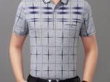 韩版翻领时尚男士短袖T恤