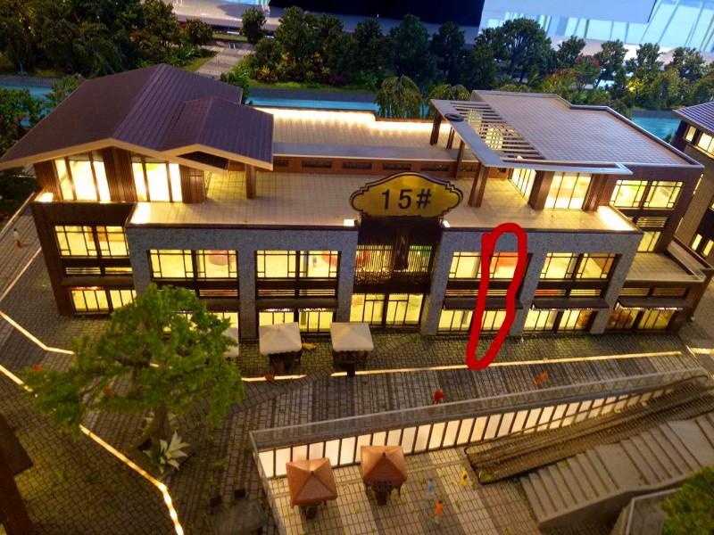 朝阳区蓝色港湾升级版适合做大型连锁餐饮大型连锁机构赠54平米
