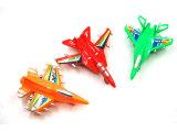 儿童塑料批发益智飞机回力玩具多彩小飞机淘宝热销10g