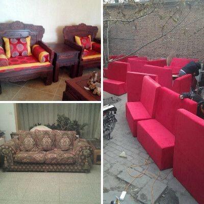 太原真皮沙发翻新 欧式沙发翻新 定做沙发套 实木沙发换海棉