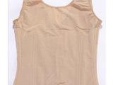 厂家供应 无袖腰背夹塑身衣 调整型美体内衣 美体瘦身衣批发
