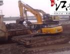 花都区2018江南水陆挖掘机租赁水陆挖机出租