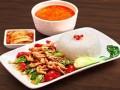 中式快餐店排名 蓝白快餐官网 加盟费是多少