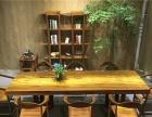 奥坎实木餐桌会议桌