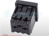 带保护门美式三插美标工业插座嵌入式桌面插座美国大三脚插座