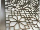 中式青古铜不锈钢屏风花格 家用金属屏风