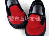 外贸儿童帆布鞋 注塑橡胶底 单鞋 学生鞋 软底宝宝鞋