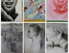唐果画室素描速写水粉水彩儿童画