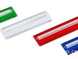 塑料直尺、放大镜尺子、15cm放大镜尺子、多功能尺子
