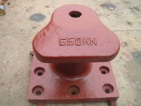 供应系船柱 系船环 栓船墩 栓船柱 码头配件 450KN方底单檐