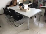 烟台2.4米防火板会议桌便宜处理