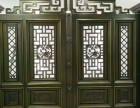 厂家直销 优质定做 小区庭院铝艺大门 高档 别墅大门仿铜门
