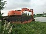 长沙烂泥清於挖机租赁