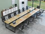 厂家全新出售会议桌会议椅 办公桌椅 屏风工位桌椅