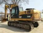 个人二手挖掘机买卖二手卡特320D挖机个人小挖机转让